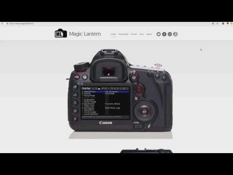 Canon 600D Raw Video * Часть 1 * Настройки