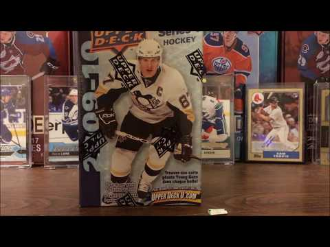 Opening a 2009 -10 UpperDeck Blaster Box