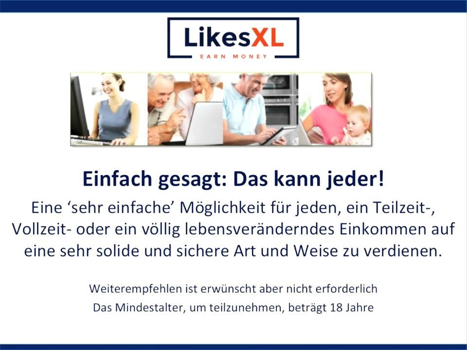 LikesXL - Geld verdienen mit Werbung! - YouTube