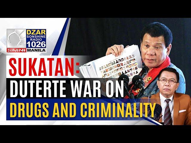 Sukatan with Mike Abe: Estado ng War on Drugs at Kriminalidad sa Pilipinas