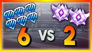 6 Diamond Players vs 2 Grand Champions (Rocket League Showmatch)