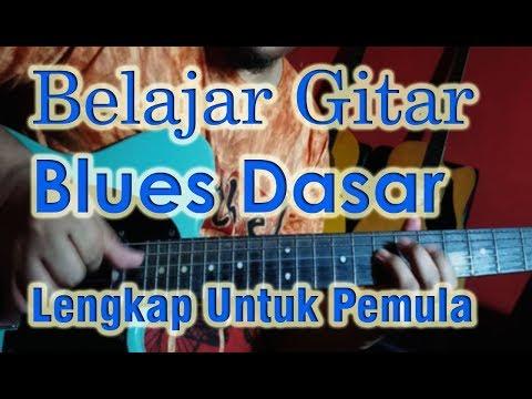 Belajar Gitar Blues Dasar Untuk Pemula