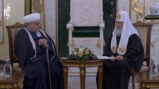Патриарх Кирилл встретился с шейх-уль-исламом Аллахшукюром Паша-заде