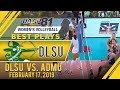 UAAP 81 WV: Aduke Ogunsanya HAMMERS it home off the over received ball | DLSU | Best Plays