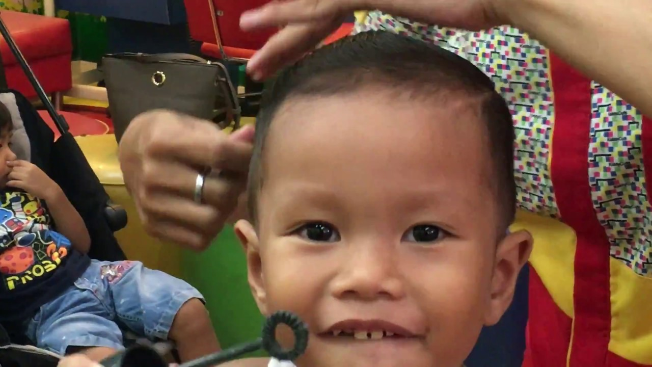 Gaya Potong Rambut Anak Kecil 2017 - YouTube