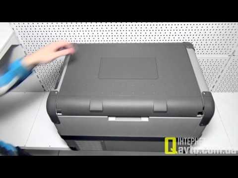 видео: waeco coolfreeze cfx-50 Компрессорный автохолодильник (46 л)