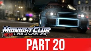 MIDNIGHT CLUB LOS ANGELES XBOX ONE Gameplay Walkthrough Part 20 - HE TOOK ME OUT !!!