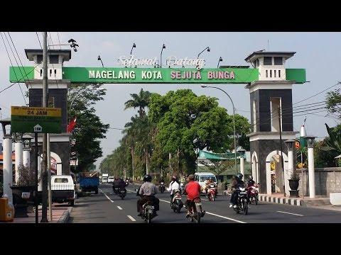 Jalan jalan di kota  Magelang ( Kota Sejuta Bunga )