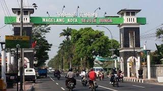 Jalan jalan di kota Magelang Kota Sejuta Bunga