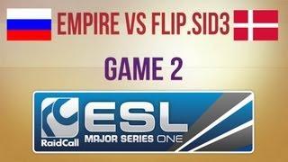 Empire vs Flip.Sid3 g.2 Final RaidCall EMS One Autumn 2013 Cup 1