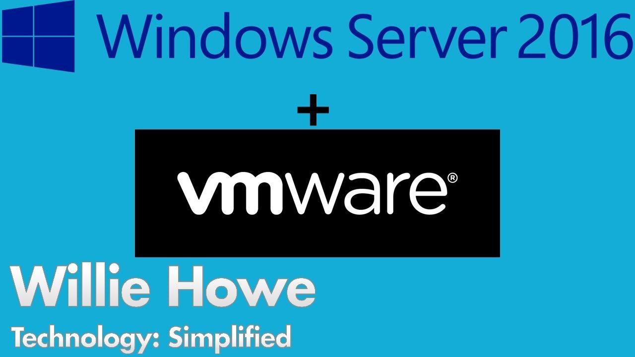 Installing Windows Server 2016 Essentials in esxi 6 5