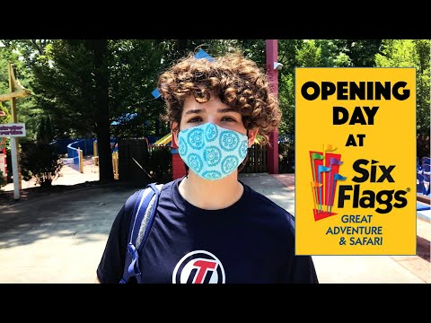Opening Day At Six Flags Great Adventure 2020