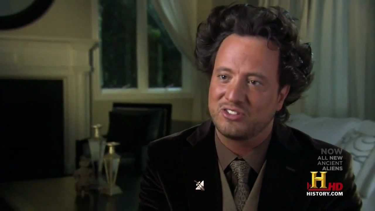 Giorgio Tsoukalos on fighter jets - YouTube