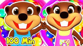 Little Ones Love Baby Songs | Cartoon Nursery Rhymes & Animation |Kids Learn Colors & ABCs with Toys