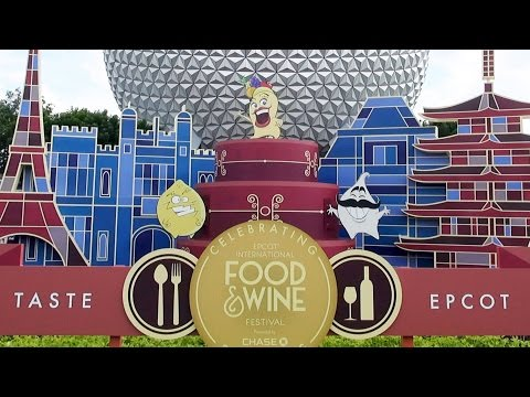 Mousesteps Weekly #161 Epcot Food & Wine Festival w/Booths; Chase Lounge; Remy Hide & Squeak; Etc.
