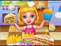 "School Lunch Food Sandwich Maker 2 ""Videos games for Kids - Girls - Baby Android"" Cooking Games"