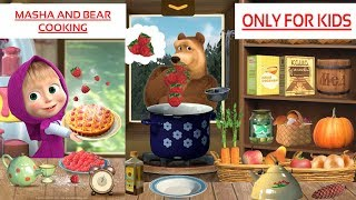 Masha & Bear Cooking | Only for Kids | Game Play | English