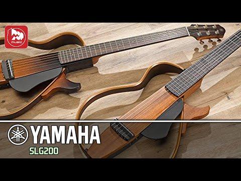 Тихая гитара YAMAHA SLG200N (с нейлоновыми струнами)