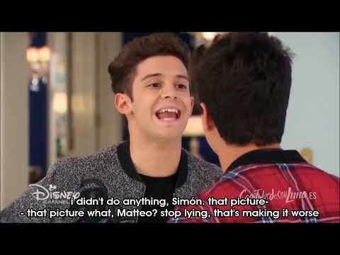 Soy Luna - Season 3 Episode 26 - Luna leaves crying and Matteo and Simón fight (English)