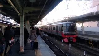 2018/1/27 名鉄岐阜駅 【JR運休中】