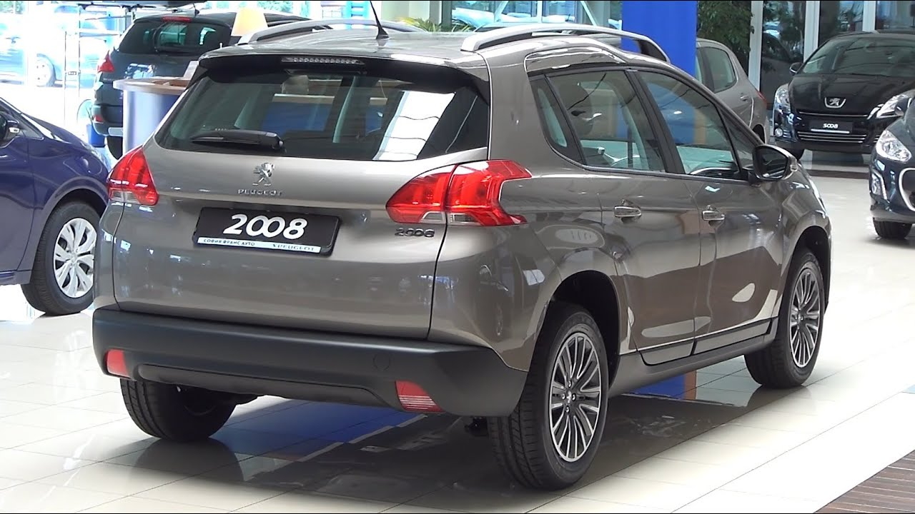 Peugeot 2008 Active 12 Vti 82 Bvm5 Exterior And Interior In Full 3d