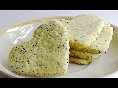 Маковое Песочное Печенье кулинарный видео рецепт