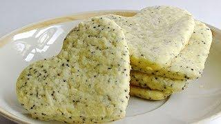 Маковое Песочное Печенье кулинарный видео рецепт(Любая выпечка становится интереснее и вкуснее, если она содержит мак. Это печенье не исключение -- простое..., 2014-05-20T03:35:35.000Z)