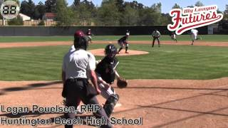 LOGAN POUELSEN PROSPECT VIDEO, RHP, HUNTINGTON BEACH HIGH SCHOOL CLASS OF 2016