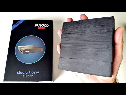 2017 Yundoo Y8 Android TV Box - Powerful Hexa-Core ( 6 CORE ) 4GB