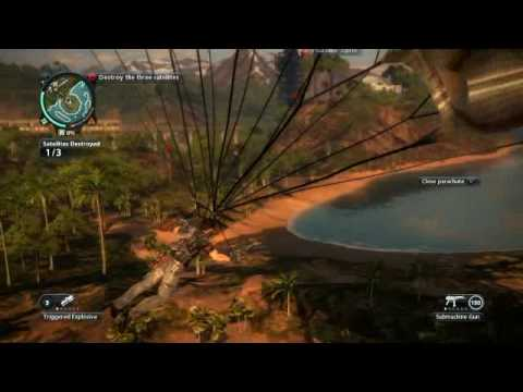 Just Cause 2 Fly Me To The Moon Gameplay