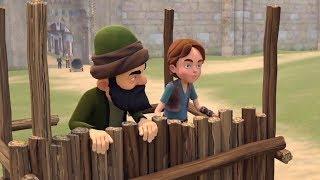 Emiray 22. Bölüm - Devler Kitabı Öğreniyor - TRT Çocuk Çizgi Film