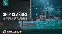 World of Warships – Warship Classes [NA]