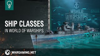 World of Warships - Warship Classes [NA]