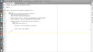 android studio tutorials 36 passing data b w activities using intent class in android