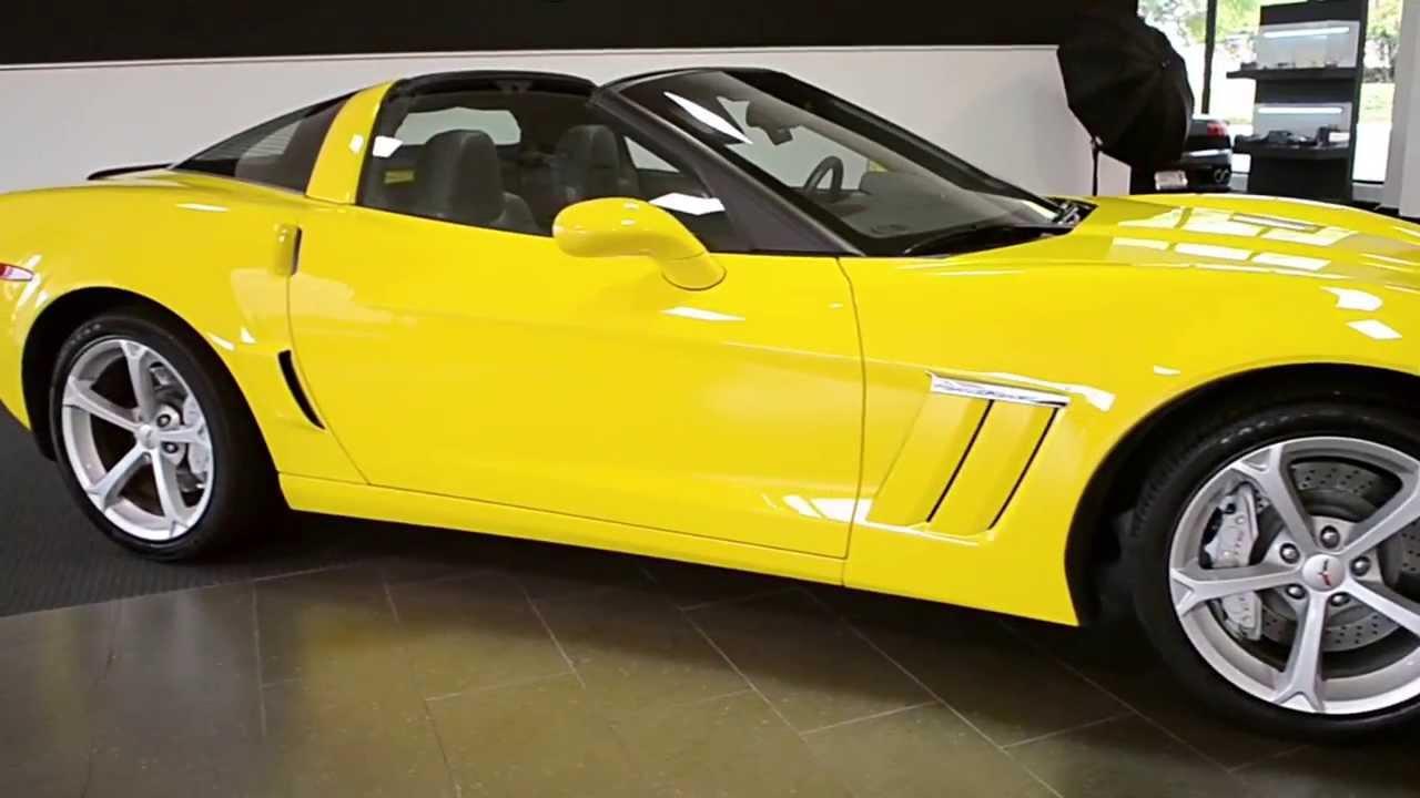 2013 Chevrolet Corvette Grand Sport Speed Yellow LT0547 ...