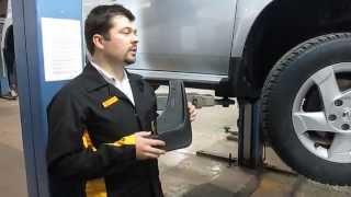 Увеличенные брызговики Renault Duster