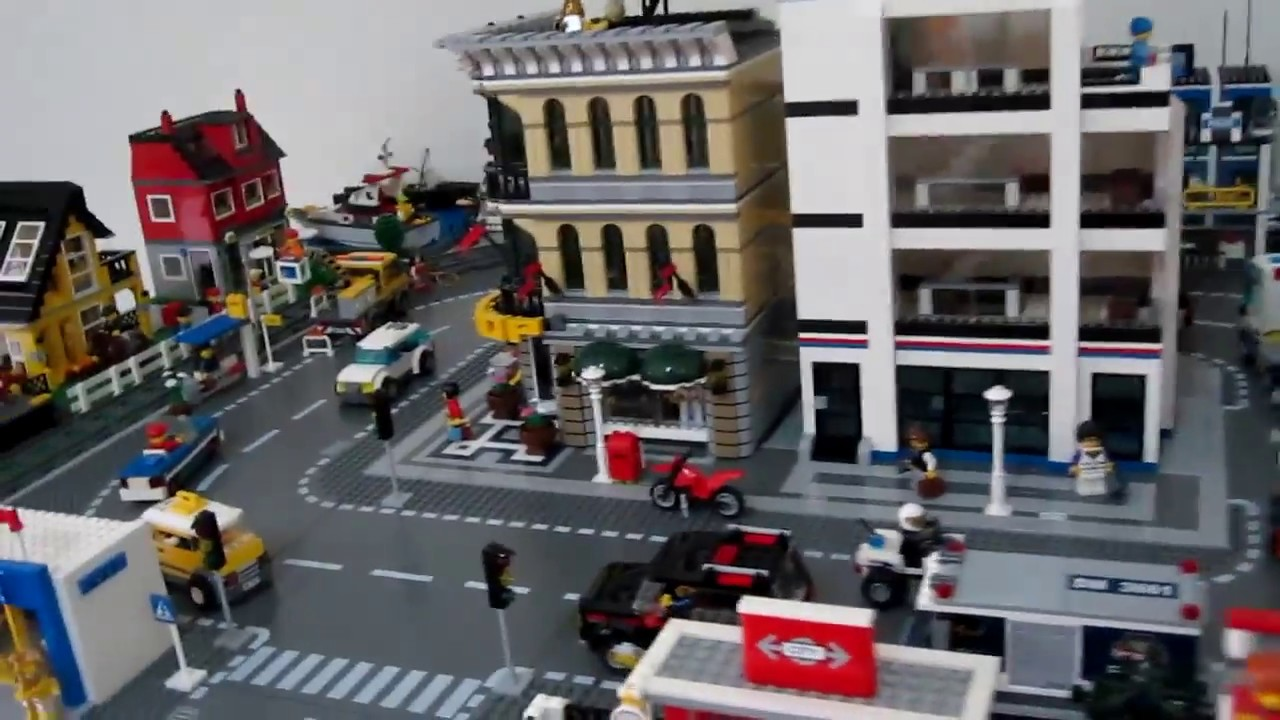 My small lego town city youtube - Image lego city ...