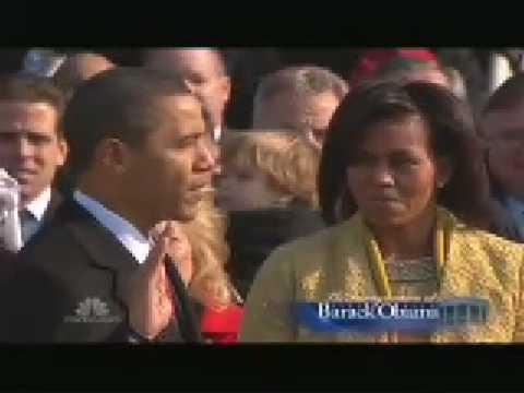 Barack Obama Oath of Office