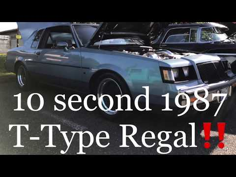 MUSCLE| 1987 T-Type Buick Regal Sleeper (Not Grand National) 4K