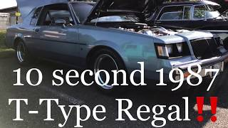 1987 T-Type Buick Regal Sleeper (Not Grand National) 4K