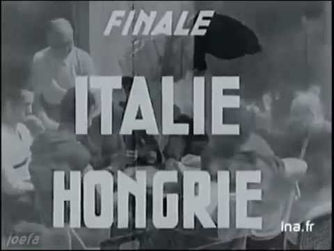 World Cup 1938 Final - Italy 4:2 Hungary