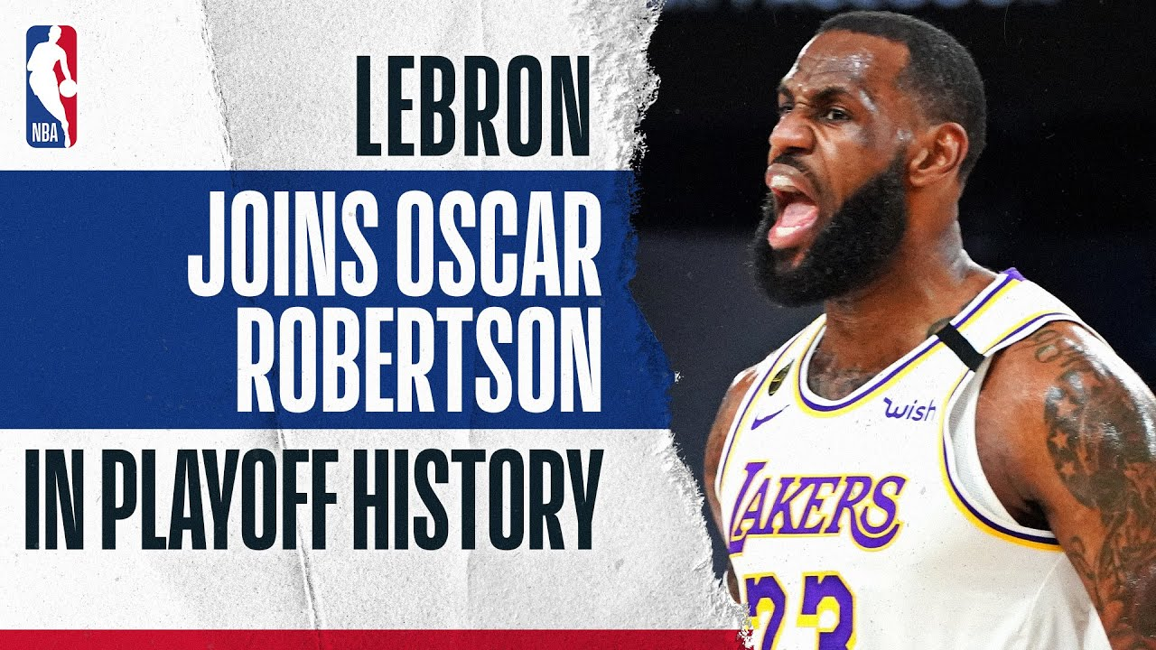 LBJ's Historic First 10 Games Of The Playoffs ????