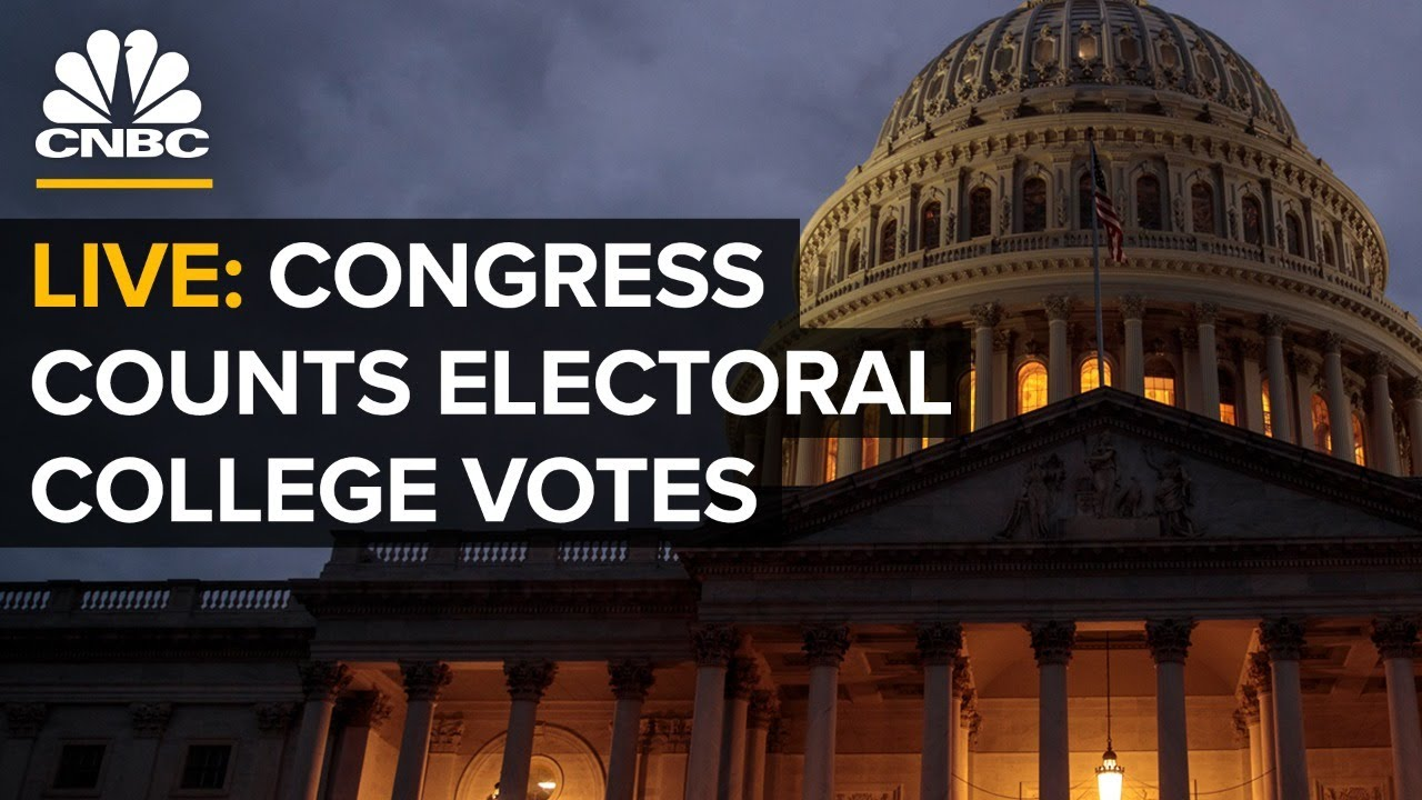 WATCH LIVE: Congress meets to count electoral ballots in 2020 presidential election — 1/6/21