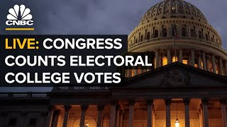 WATCH LIVE: Congress męets to count electoral ballots in 2020 presidential election — 1/6/21