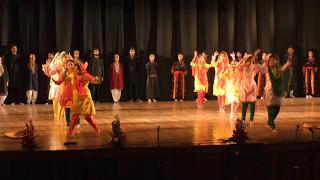 Folk Dance(Ladakhi+Kashmiri+Bhaderwahi+Dogri) by students of GCET Jammu at Annual Day 2017