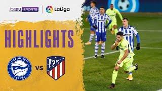 Alaves 1-2 Atletico Madrid | LaLiga 20/21 Match Highlights