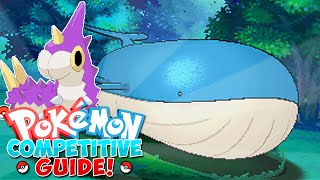 Pokemon Competitive Guide - Wailord! (How to use Wailord in ORAS!)
