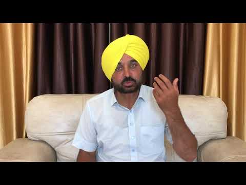 Live...! Bhagwant Mann First Time After Great Victory