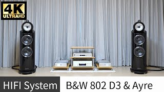 B&W 802 D3 스피커와 Ayre KX-R Twen…