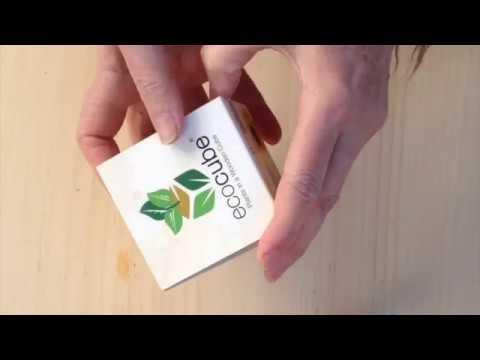 Ecocube cubo da piantare. Top idee regalo